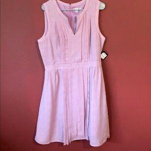NWT Halogen mini cubes sleeveless dress